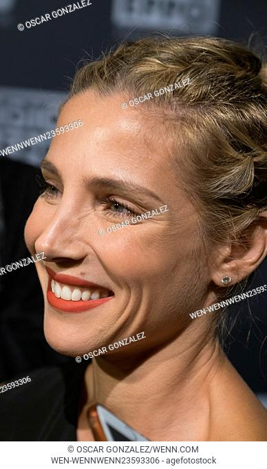 Elsa Pataky attends the 25th anniversary Party of 'Gios Eppo' Featuring: Elsa Pataky Where: Madrid, Spain When: 03 Mar 2016 Credit: Oscar Gonzalez/WENN