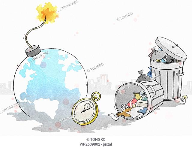 Crisis of environmental pollution
