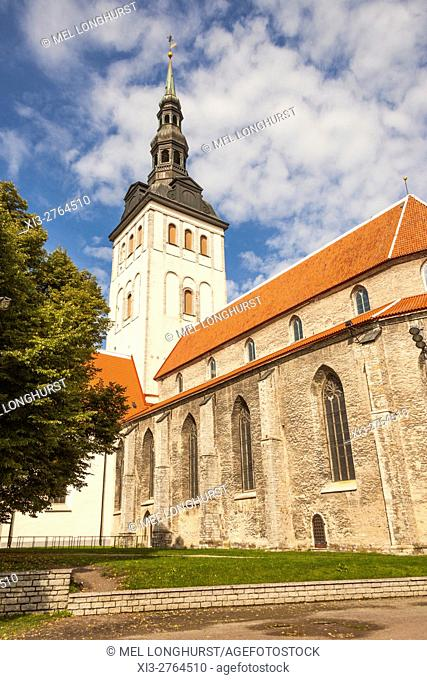 Niguliste Church, Saint Nicholas Church, Old Town, Tallinn, Estonia
