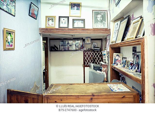 Photo shop interior. Fez, Morocco