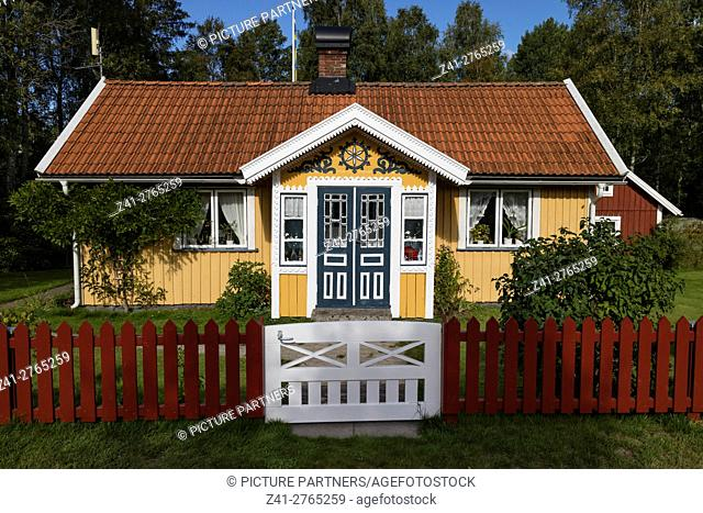 Front porch in Bolmen, Sweden