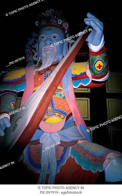 The Four Devas,Temple,Korea