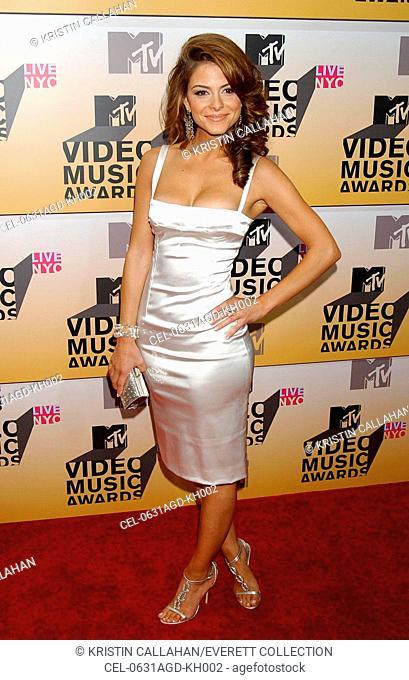 Maria Menounos at arrivals for MTV Video Music Awards VMA's 2006 - ARRIVALS, Radio City Music Hall at Rockefeller Center, New York, NY, August 31, 2006