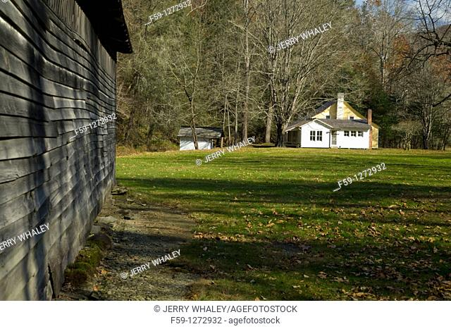 Palmer Place, Cataloochee Cove, Great Smoky Mtns NP, North Carolina