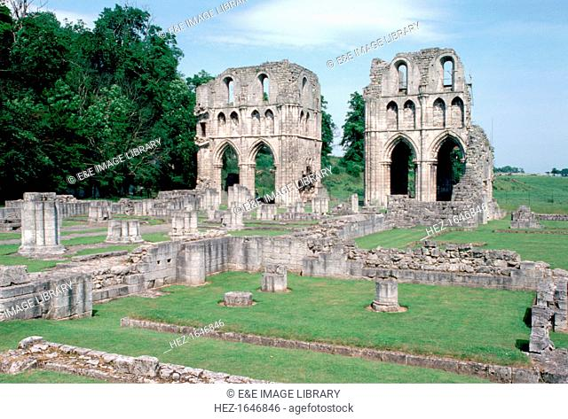 Transepts of Roche Abbey, near Maltby, South Yorkshire