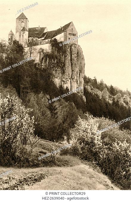 'Prunn Castle in the Altmuhl Valley', 1931. Artist: Kurt Hielscher
