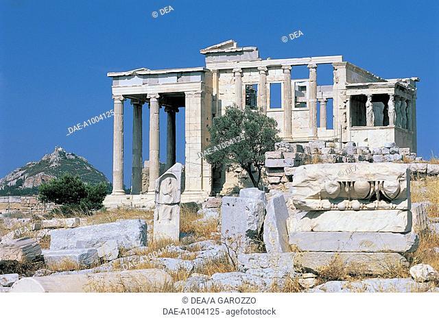 Greece - Athens - Acropolis - Erechtheion
