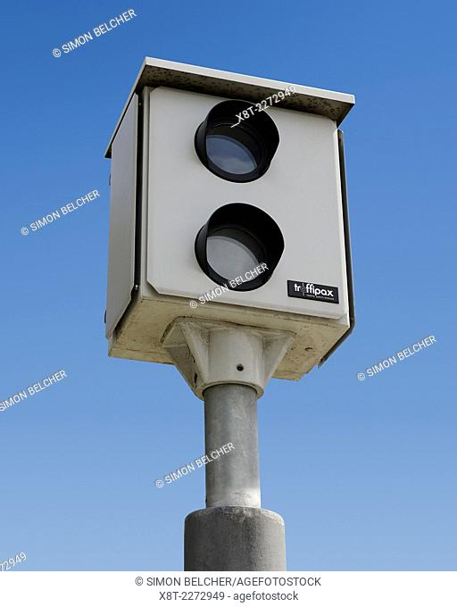 Speed Camera. Traffipax Speed Control Camera