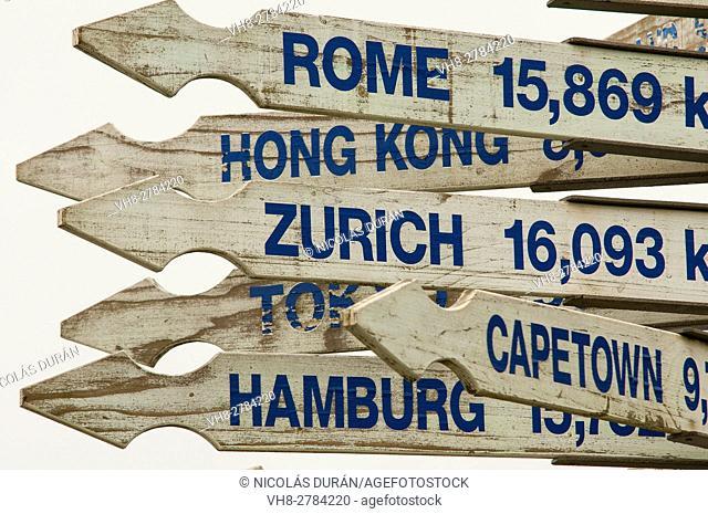 Poster distances, New Zealand