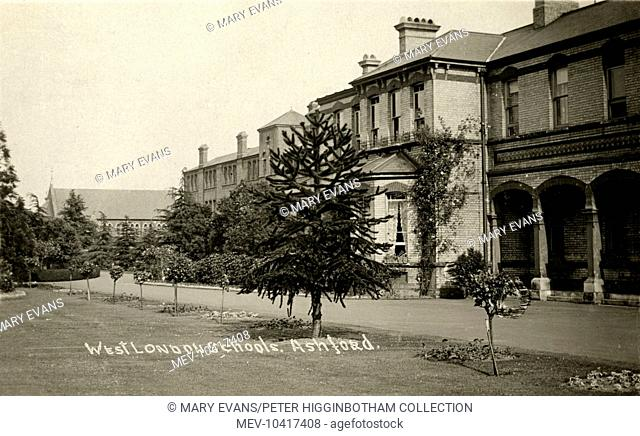 Located on Woodthorpe Road, at Ashford, near Staines, Surrey, and opened in 1872 as the West London District School, it provided accommodation away from the...