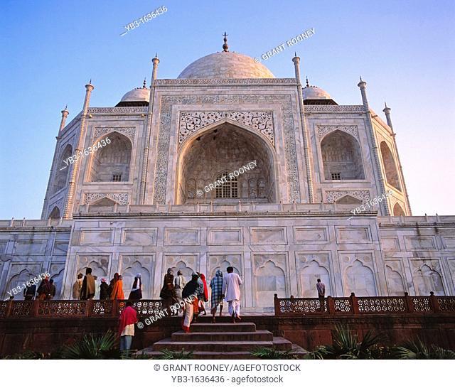 The Taj Mahal, Uttar Pradesh, India