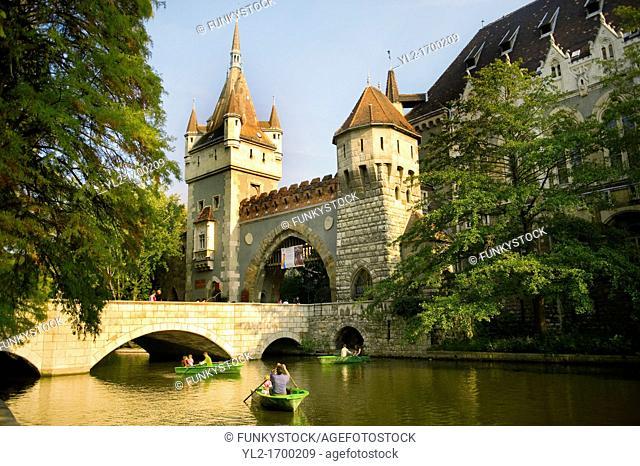Vajdahunyad Vár  Monumental castle - Budapest - Hungary