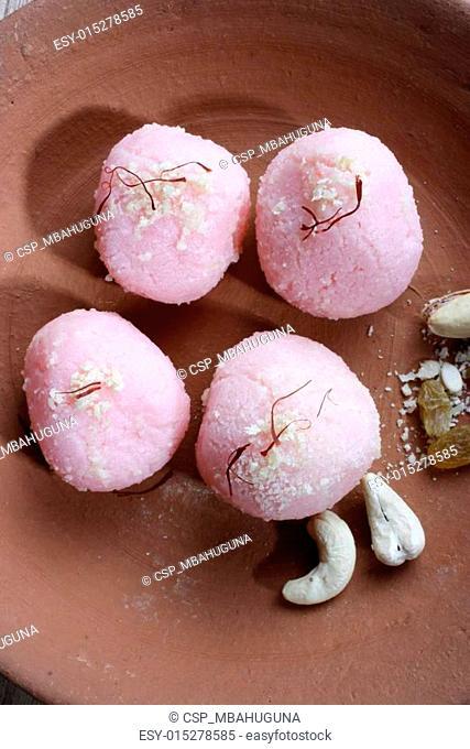 Ras Kadamba - An Indian sweet dish