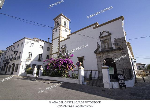 Grazalema is one of the most beautiful villages in, Spain Cadiz mountains Andalusia Encarnacion church