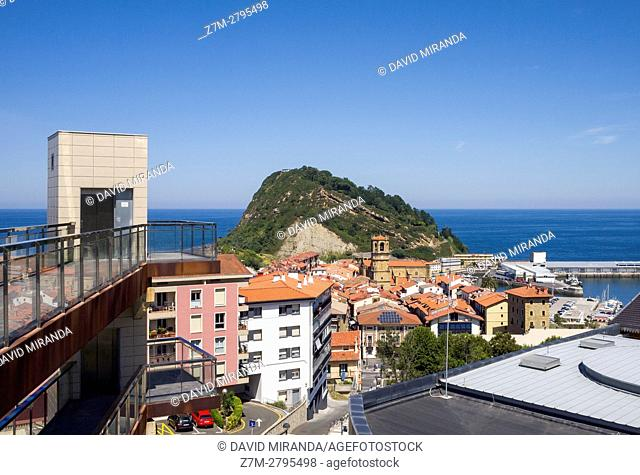 Getaria, Gipuzkoa province, Basque Country, Spain. Historical Heritage Site