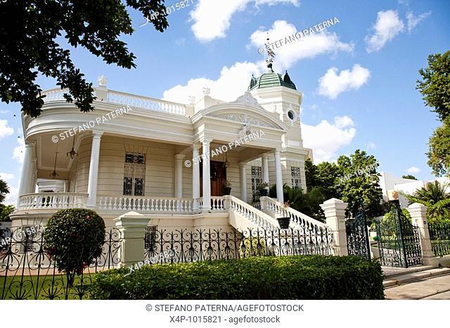Casa Museo Quinta Montes Molina, Merida, Yucatan, Mexico