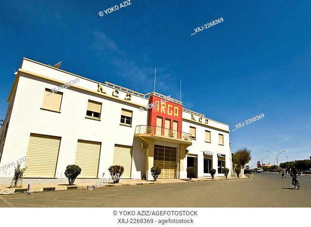 Irga factory, Asmara, Eritrea