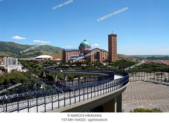 Ponte of the Basilica of Aparecida do Norte, São Paulo, Brazil