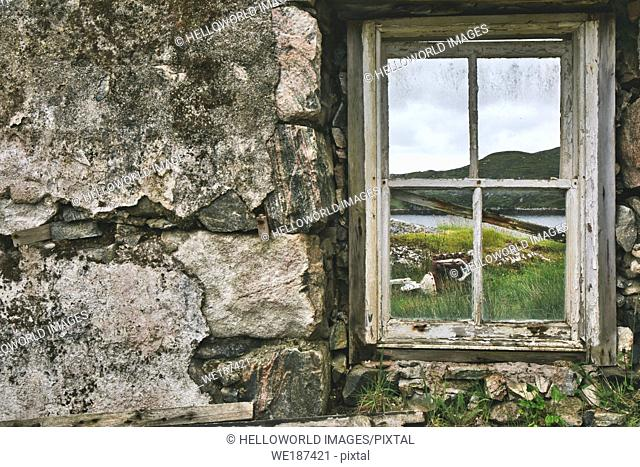 Abandoned croft, Isle of Harris, outer hebrides, scotland