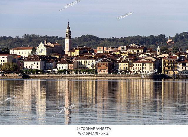 Angera at Lake Maggiore