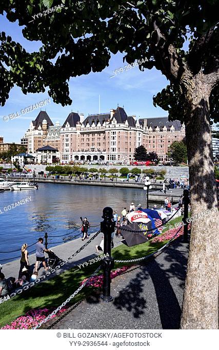 Inner Harbour - Victoria, Vancouver Island, British Columbia, Canada