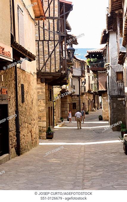 San Martin del Castanar; Sierra de Francia Nature Reserve; Salamanca province; Castilla Leon; Spain