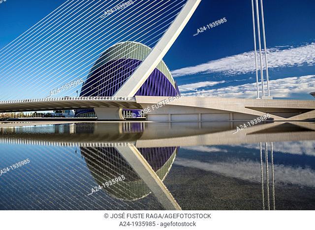 Spain , Valencia City, the city of Arts and Science built by Calatrava