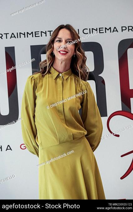 Caterina Guzzanti during the photocall, Rome, ITALY-23-06-2020