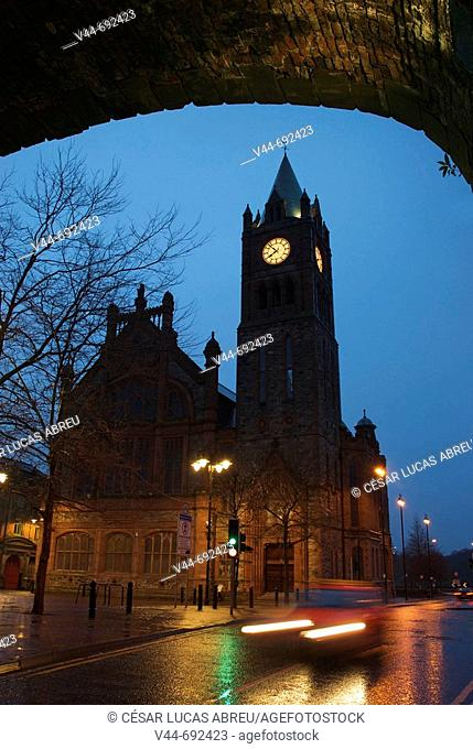 Columbus Cathedral. Derry (Londonderry). Ulster, Irlanda