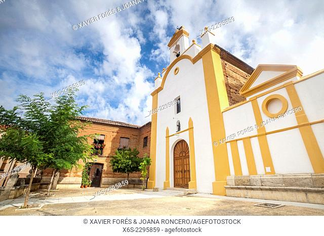 Church of San Juan in Sahagun, Way of St. James, Leon, Spain