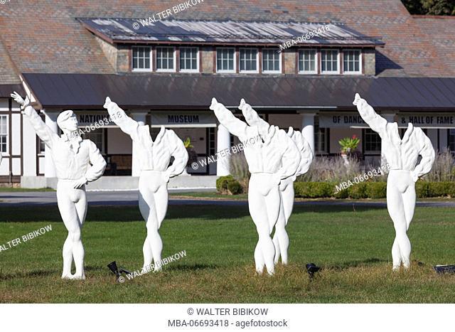 USA, New York, Hudson Valley, Saratoga Springs, National Museum of Dance