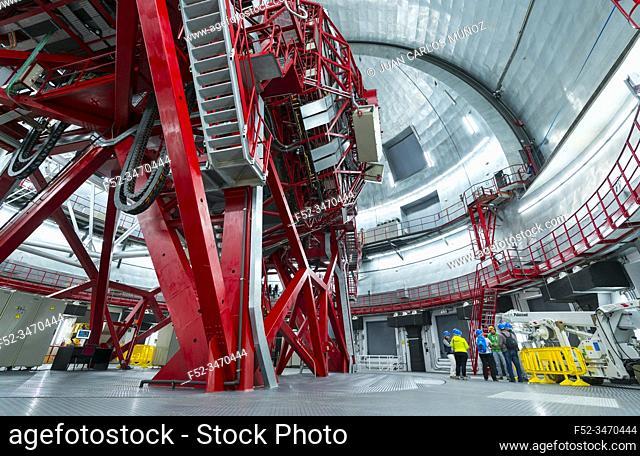 The Gran Telescopio Canarias, The Observatorio Astrofisico del Roque de los Muchachos, El Paso and Garafia municipalities, La Palma island, Canary Islands