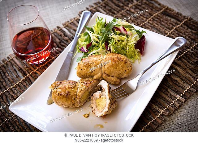 stuffed turkey parmesan