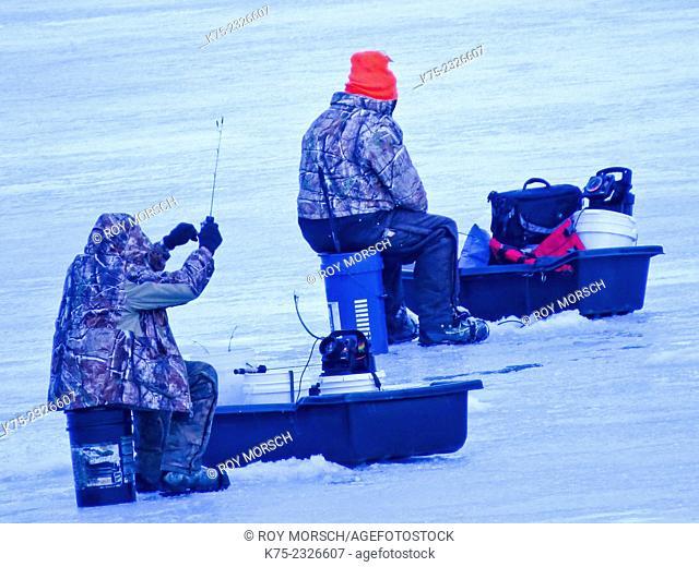 Ice fishing northeast PA