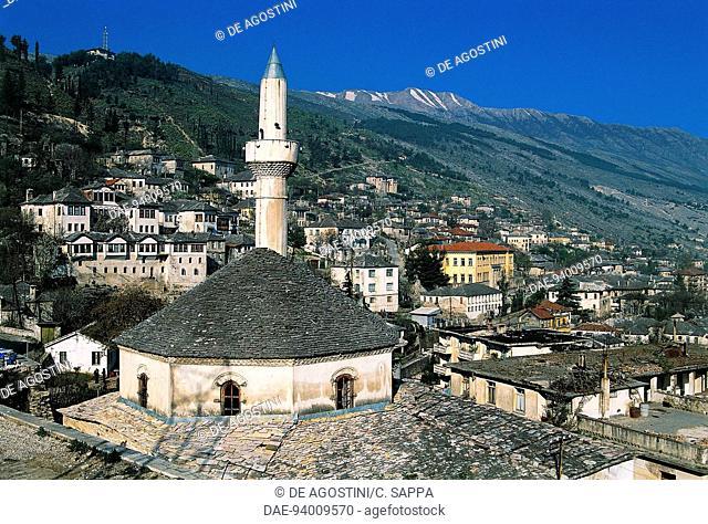 Bazaar-Pazar mosque, 1757, Gjirokastra (UNESCO World Heritage List, 2005), Albania, 18th century