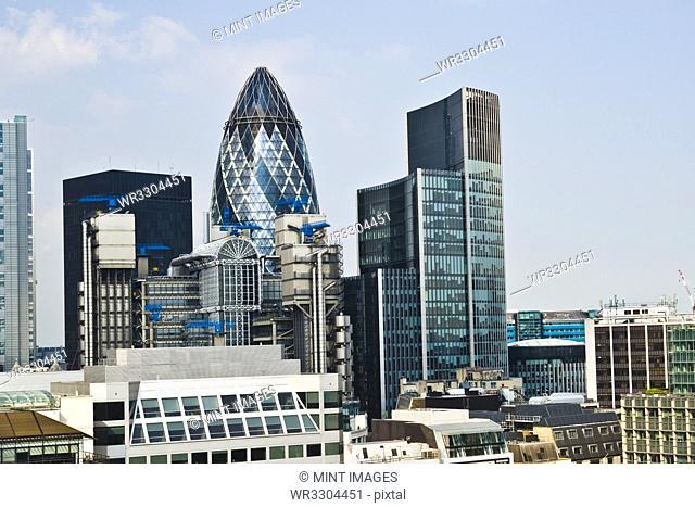 Financial Skyline of London