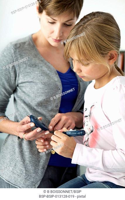DIABETES CONSULTATION FOR CHILD