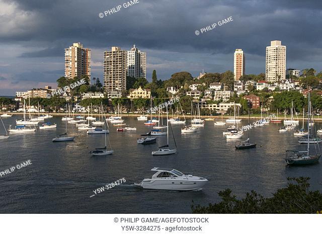 Darling Point across Rushcutters Bay, Sydney, Australia