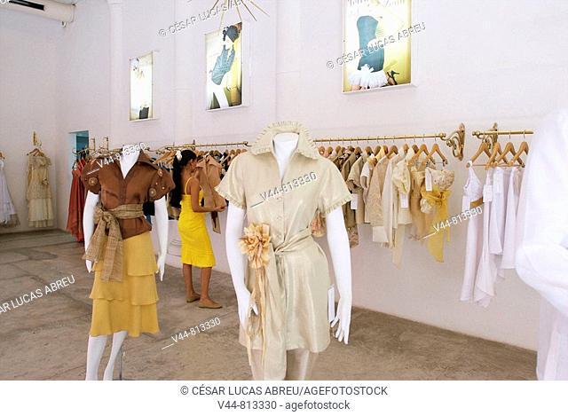 Ketty Tinoco clothes shop, Cartagena de Indias, Colombia