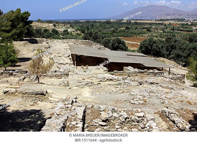 Agia Triada excavation site, Crete, Greece, Europe
