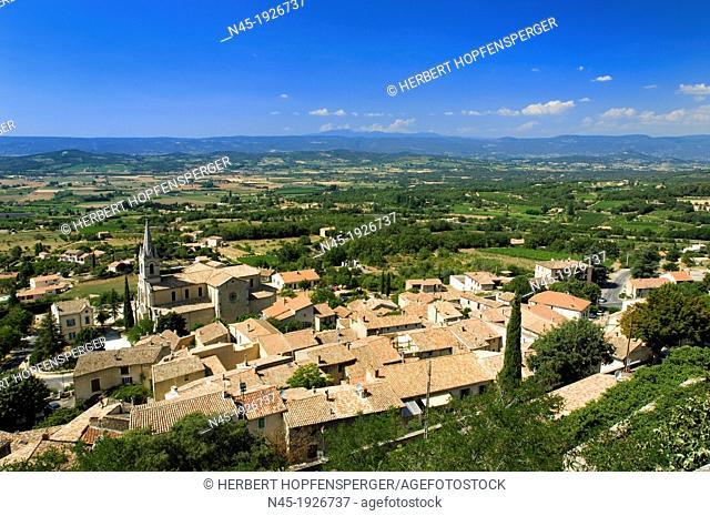 Bonnieux; Vaucluse Departement; Luberon; Village; Provence; France