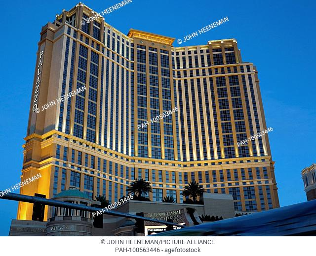 Las Vegas, Nevada , Palazzo at The Strip (Las Vegas Boulevard), United States of America,     October 2015 | usage worldwide