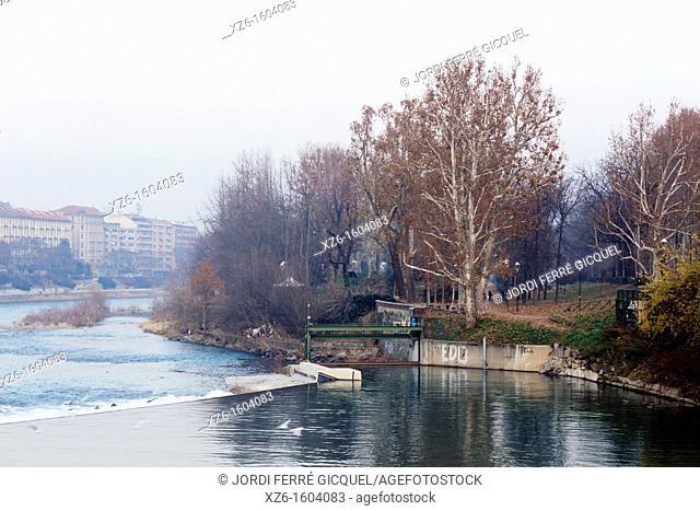 Po river, Torino, Italy, Europe