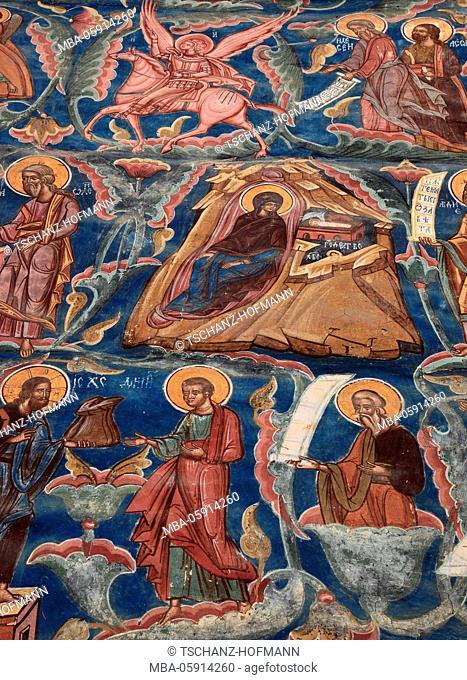 Vatra Moldovitei, The cloister of Moldovita, Manastirea Moldovita, is a Roumanian-orthodox convent and lies in Romania in the district Suceava
