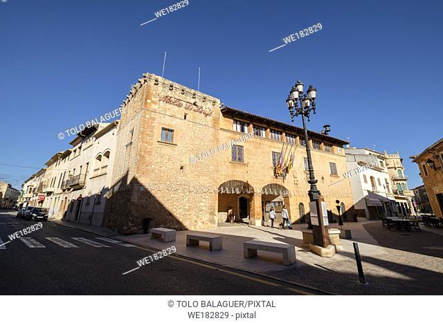 Casa de la Vila, siglo XV, Campos, Mallorca, balearic islands, Spain