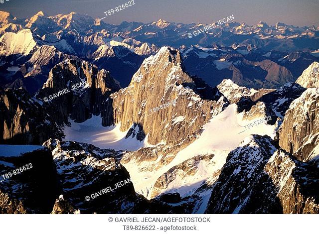 Alaska Range, Denali National Reserve, Montane landscape