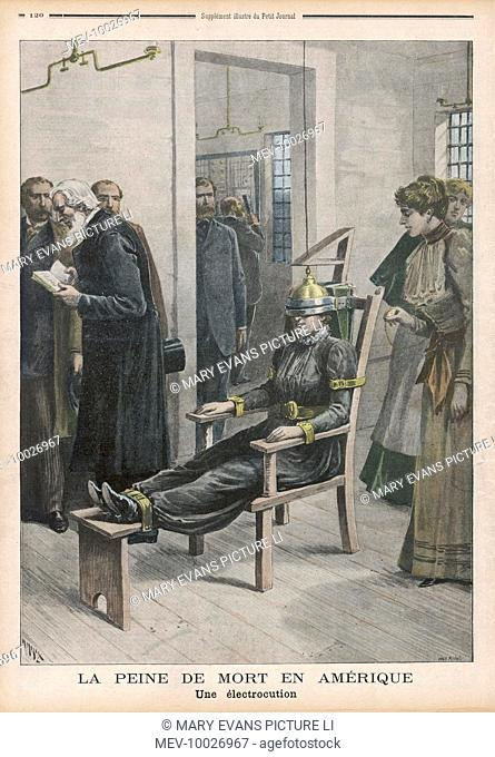 Electric Chair And Women Stock Photos And Images Agefotostock