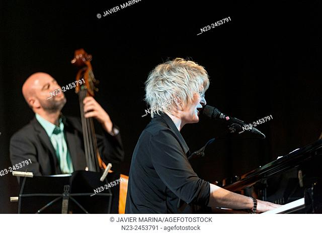 Dena DeRose (piano) and Ignasi González (double bass), Gothejazz, Godella; Valencia; Spain