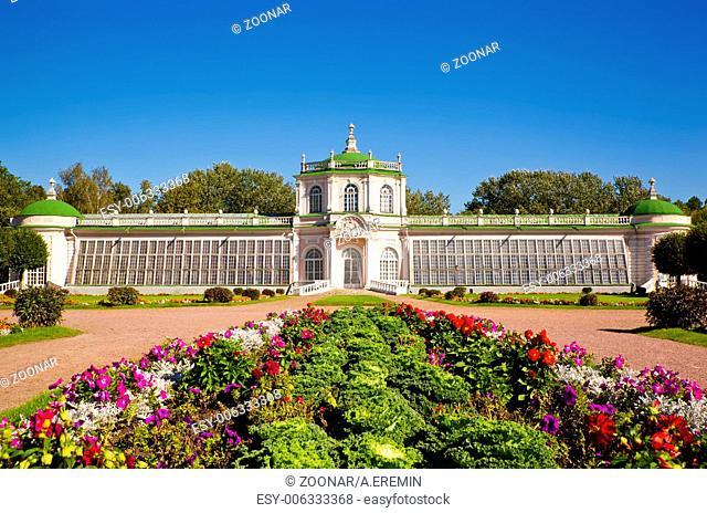 Orangerie Pavilion at the museum-estate Kuskovo