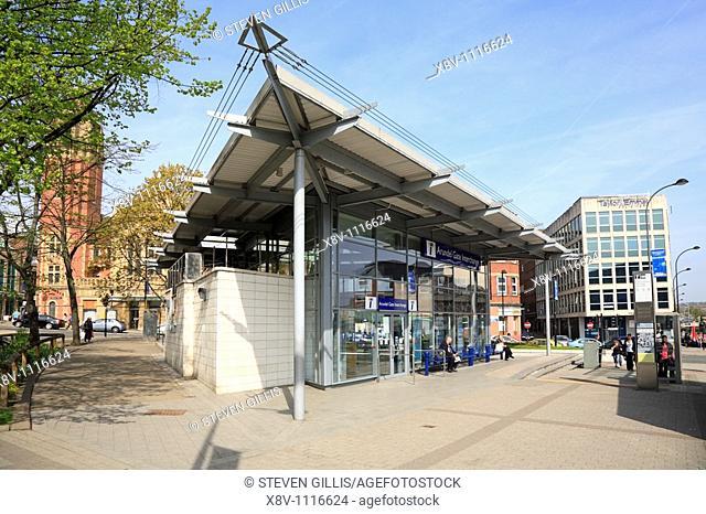 Arundel Gate Interchange, Sheffield, South Yorkshire, England, UK